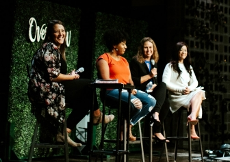 Panel discussion at the 2019 Overflow women's conference