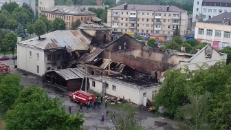 "In May, the Pregnancy Care office, located in a youth center in Novograd, Zhytomyr—a state in the northwestern part of Ukraine—was devastated by what has been deemed an ""accidental fire."""